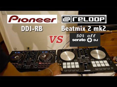 Pioneer DDJ-RB vs Reloop Beatmix 2 mk 2