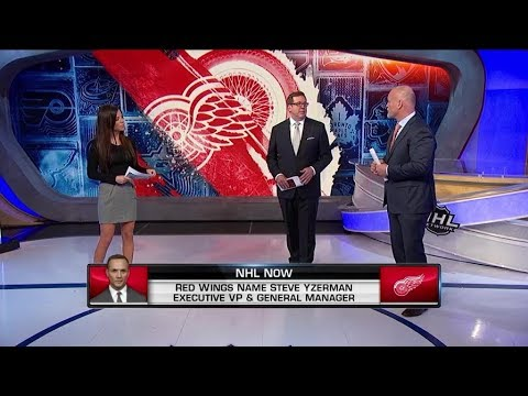 NHL Now:  Steve Yzerman named Red Wings Executive VP and GM  Apr 19,  2019