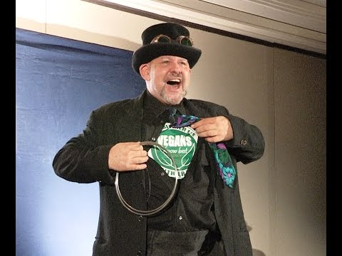 Animal Activist & Magician Brandon Scott performs at Animal Rights Conference 2014