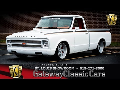 #7950 1967 Chevrolet C10 Gateway Classic Cars St. Louis