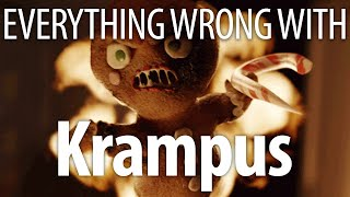Repeat youtube video Everything Wrong With Krampus In 15 Minutes Or Less