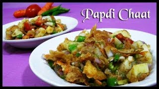 Papdi Chaat (Indian Street Food) Recipe |  Every Indian Girl