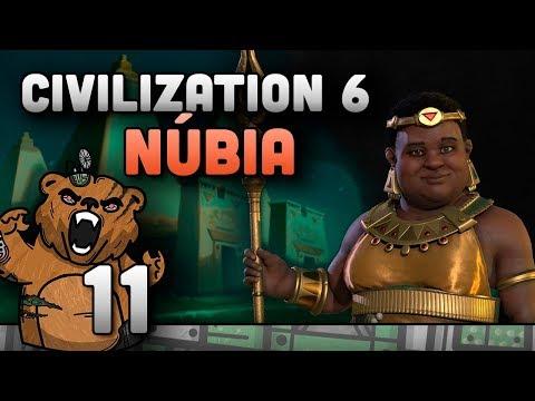 Roubando minhas wonders | Civilization 6 #11 Núbia - Gameplay Português PT-BR