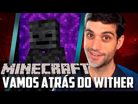 Minecraft 1.14 #32 - Vamos Atras do Wither Boss, Esqueleto Murcho e Mais