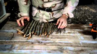 BEST WAY TO START A FIRE! ANYONE CAN DO IT -  Survival Tactics Video