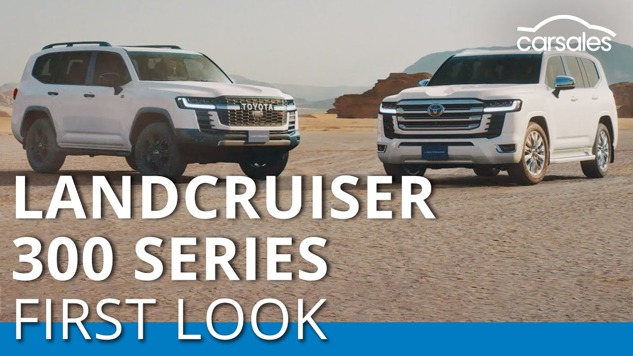 Download First look: New Toyota LandCruiser 300 series makes world debut @carsales.com.au