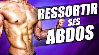 Faire RESSORTIR SES ABDOS - Programme COMPLET A LA MAISON !