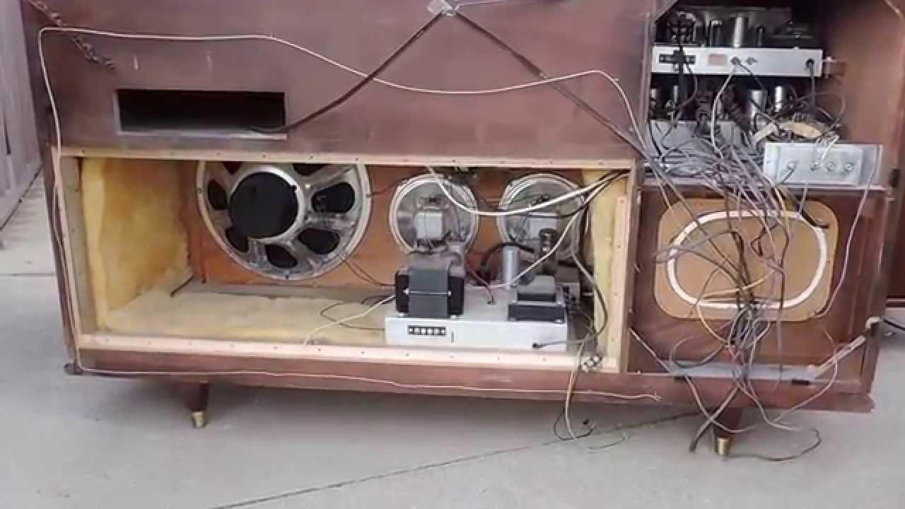 Electrohome 1950 S Era Hi Fi Console The Clarion 001