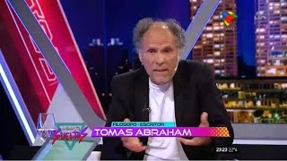 Tomas Abraham en Animales Sueltos / Fantino HD ( 10/11/2015 )
