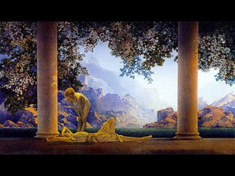 """""""Daybreak"""" Painting by Maxfield Parrish - 30 Minute Documentary"""