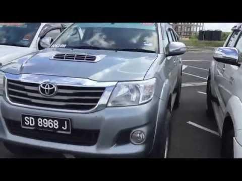 Toyota Corolla Sabah Road To TMG Borneo Lahad Datu 2K15