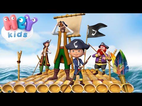 Quattro Pirati nel Mar dei Sargassi ⛵🏴 + altre Canzoncine per Bambini