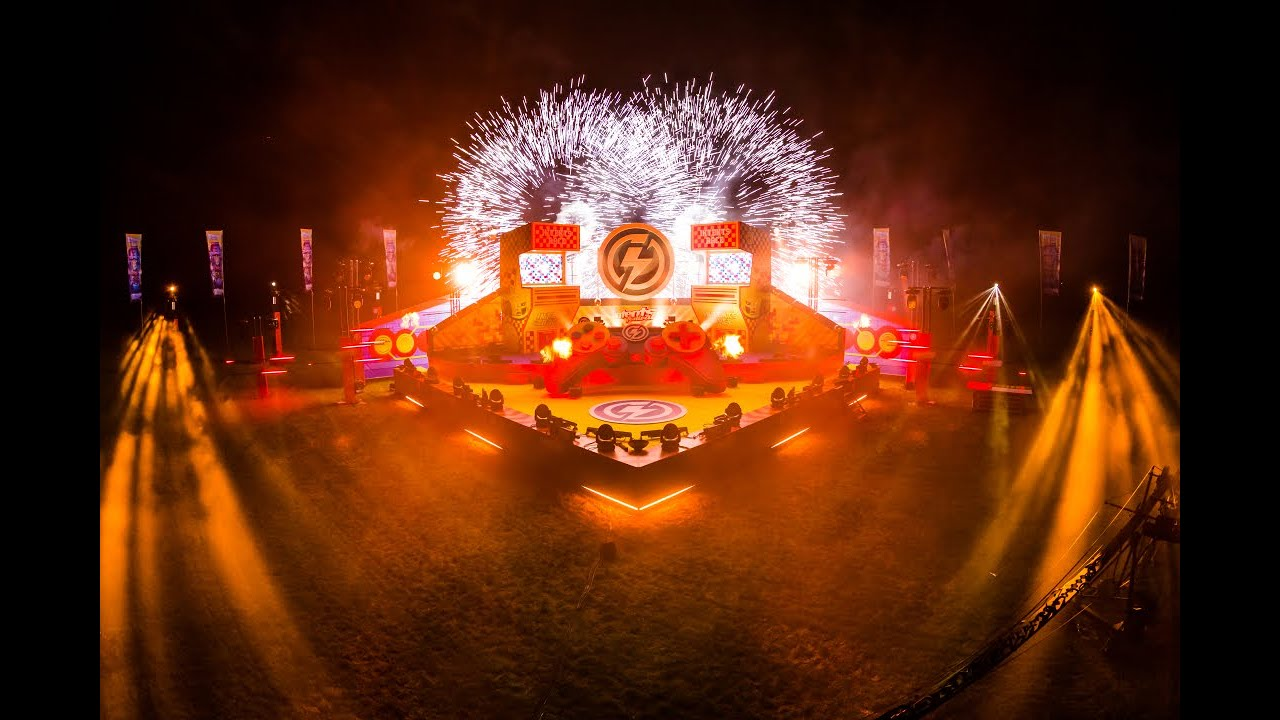 Endshow @ Mainstage of Experience the Feeling of Intents Festival Online