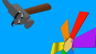 Funny Tools For Kids (ep.19) - Building A Windmill - Aapv
