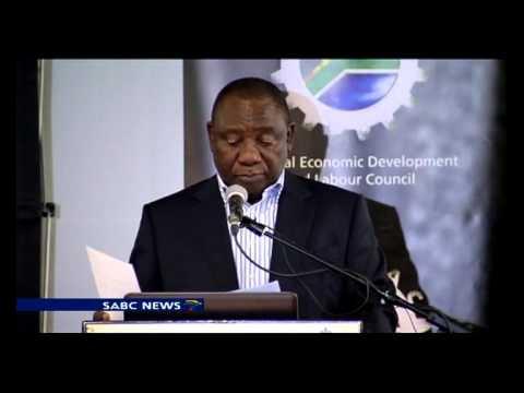 Ramaphosa on national minimum wage