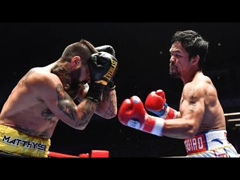 Manny Pacquiao vs Lucas Matthysse boxing results