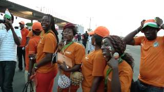 Atmosphere Before Dr Congo Vs Côte D'ivoire - Orange Africa Cup Of Nations,