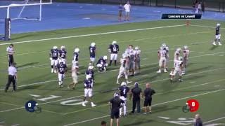 Lancers vs Lowell Football 2016