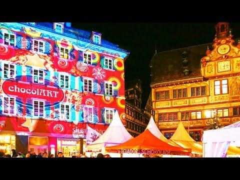 Chocolate Festival 2015 Germany Tübingen-city ChocolART 4K LX100.
