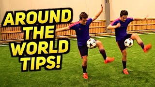 """TIPS TO LEARN THE """"Around The World"""" ★ (SkillTwins Documentary - Episode #3)"""