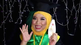 Belajar make up wisuda pemula pakai viva cosmetic part 1