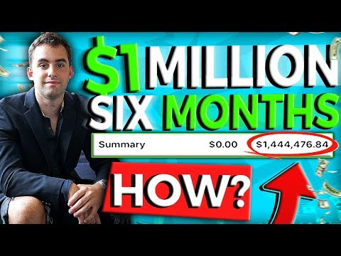 How I Made $1M In 6 Months Drop Shipping