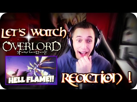 PEBBLES FIGHTING A MOUNTAIN!| LET'S WATCH Overlord Episode 4 REACTION!