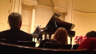 Elias performing Chopin Fantaisie Impromptu, 8 years