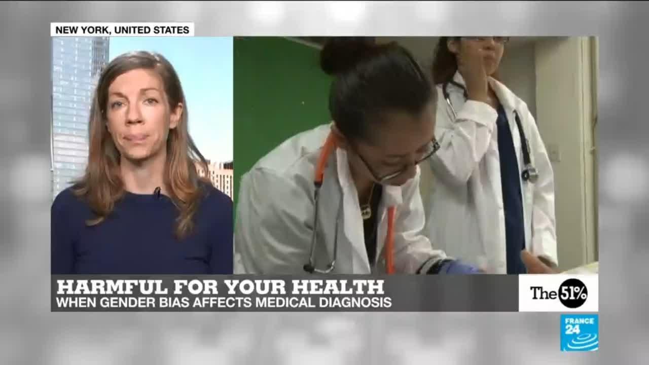فرانس 24:The 51 Percent:  How doctors are failing women when it comes to diagnosis, thanks to gender bias