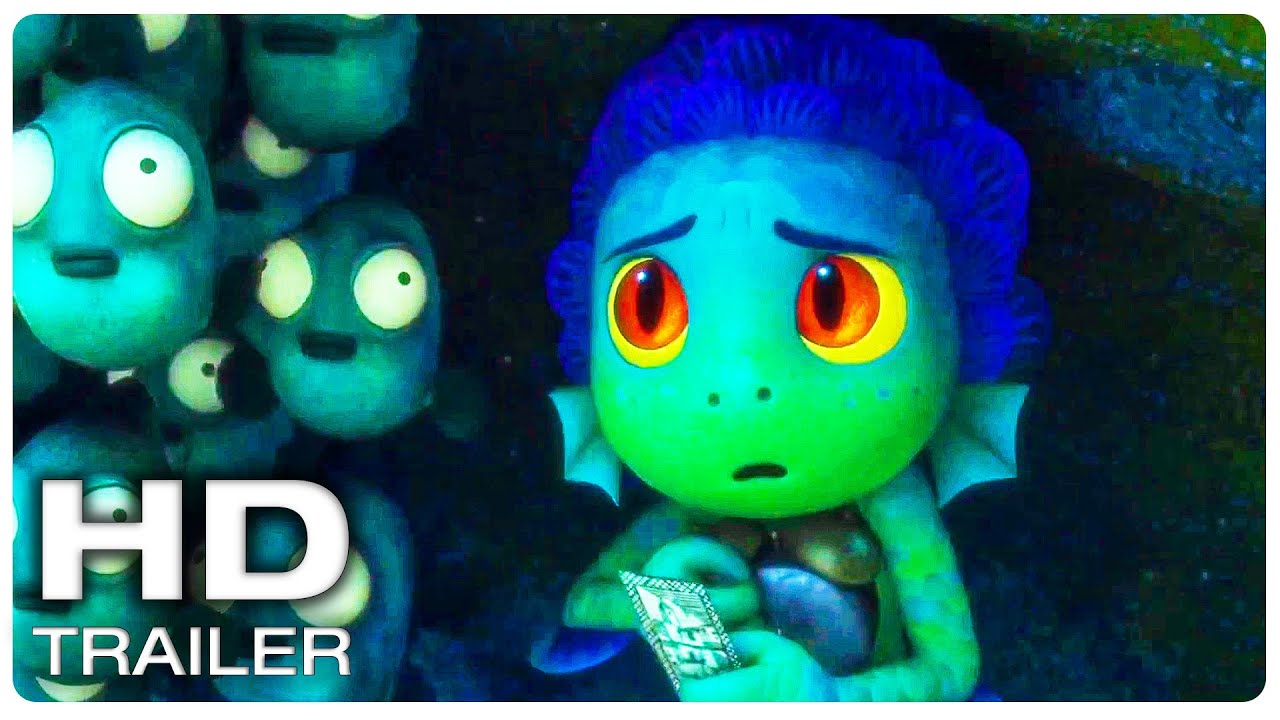 """LUCA """"Tips To Not Get Caught"""" Trailer (NEW 2021) Disney, Animated Movie HD"""