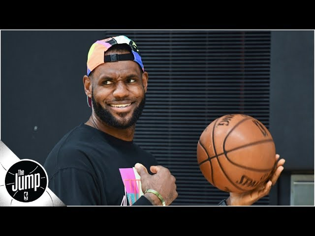 LeBron James is 'tamperer-in-chief' for the Lakers right now, but will it be enough? | The Jump