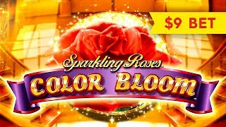Sparkling Roses Color Bloom Slot - NICE SESSION!