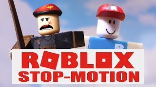 ROBLOX: Phantom Forces - Noob Recruits (Stop-Motion Toy Parody) #RobloxToys