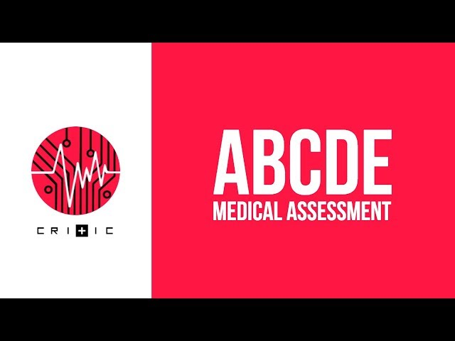 ABCDE assessment - Emergency Department