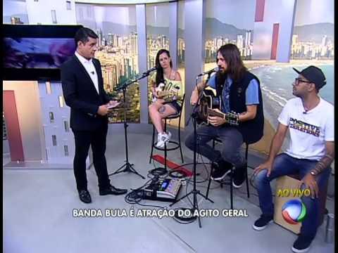 Bula Rock no Balanço Geral (RECORD Litoral)