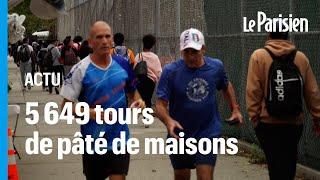 Un Italien court 42 jours dans New York pour remporter la plus longue course du monde