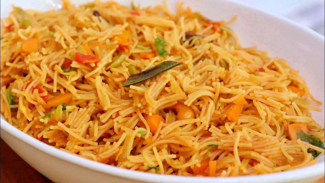 Semiya biriyani   Vermicelli biriyani   Biriyani recipe   Easy vegetable Biriyani