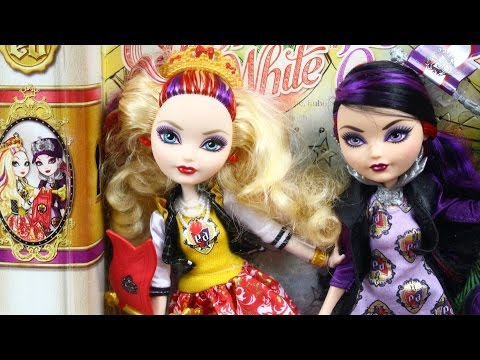 Ever After High Apple White Royally Ever After обзор на русском .