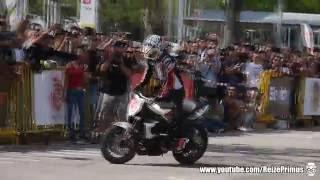 Stunt Riding - Hiroyuki Ogawa - Triumph Street Triple