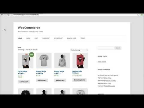 "18 - How To Enable Registration On ""My Account"" Page? (WooCommerce Tutorial)"