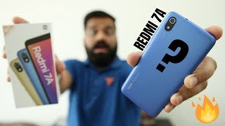 Redmi 7A Unboxing & First Look - Latest Budget Smartphone