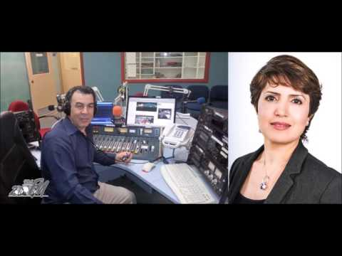 Mostafa Khalil from Radio 2000fm interviews Dr Widad Akreyi, president of Defend International