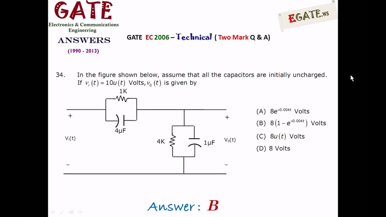 Gate 2013 Question Papers Pdf For Ece With Answers