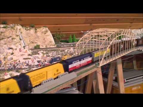 MÄRKLIN, modelleisenbahn,model trains, BOXCARS, BIG-BOY, GG-1, SANTA FE,  UNION PACIFIC, HO treinen