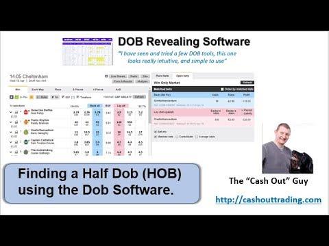 Finding a Half Dob (HOB) using the Dob Software