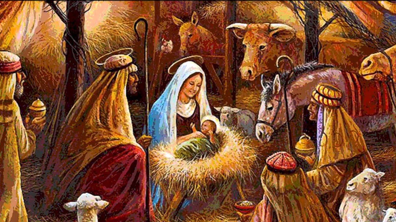 christmas images jesus christ was born hd wallpaper and