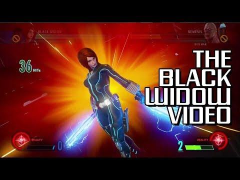 Black Widow DLC [Weird Juggle Combos]