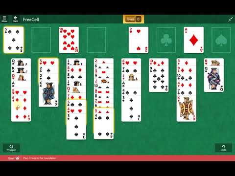 Microsoft Solitaire Collection - FreeCell - September 30 2017