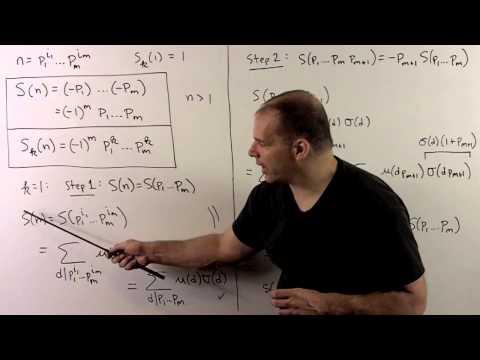 Mobius Function Example