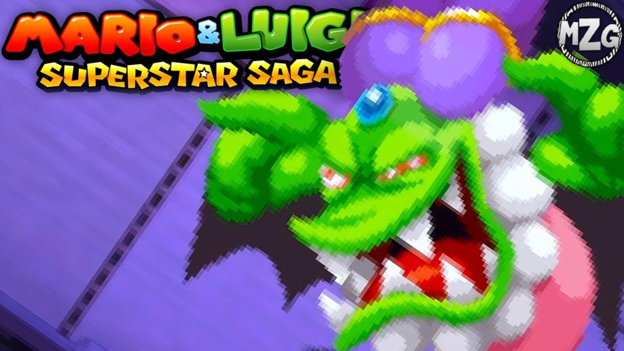 Fighting Cackletta Mario Luigi Superstar Saga 3ds Gameplay